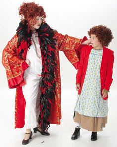 Little Orphan Annie and Ms. Hannigan Costumes - Annie Rental from $39-53 per costume