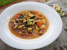 Sopa De Verduras O Menestra Primaveral Sopa De Verduras Verduras Recetas Bajas En Grasa