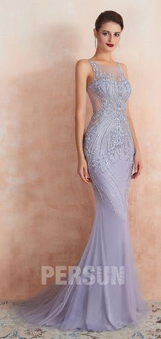 robe de soiree lavande,robe de soiree elegante femme,Jolie
