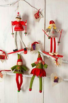 El blog de Dmc: Nuevos kits de fieltro navideño