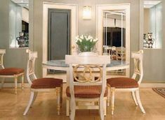 """Gail Green for Green & Co., Inc. Almost any space can be transformed into a spectacular dining room.""    TLC Home ""Dining Room Decorating Ideas"""