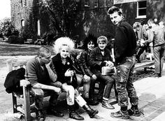 London punks, 1978. Photo by Janette Beckman...before you could buy it at the mall ;)