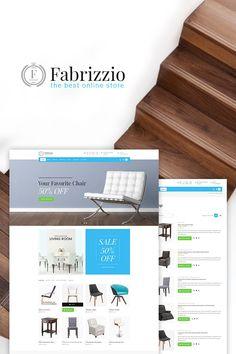 Fabrizzio - Furniture Store Responsive #WooCommerce Theme Big Screenshot #wordpress