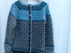 Norwegian Knitting, Fair Isle Knitting, Mantel, Knitting Patterns, Men Sweater, Vest, Jumpers, Knits, Sweaters
