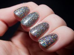 Girly Bits' A Stripper Has Been Sleeping In My Bed | Chalkboard Nails | Nail Art Blog
