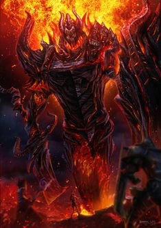 RIFT - Fire Colossus by bramLeech.deviantart.com on @deviantART