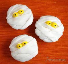 Anita Cocinitas: Muffins de momias de Halloween