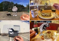 Aug(De)Mented Reality: An Ingenious Fusion of Traditional Cel Animation and iPhone Photography stop motion animation
