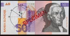 Slovenia 50 tolarjev currency of Slovenia Slovenian banknotes 50 tolarjev 1992 Series, issued by the Bank of Slovenia (Banka Slove. Slovenia, Banknote, 50th, Coins, Pictures, Shakespeare, Florence, Wealth, Country