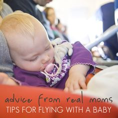 Tip for flying with baby