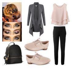 """""""Simple, but Elegant 😍💖"""" by haileywilkins1 ❤ liked on Polyvore featuring Chloé, Clarks, Chicwish and Autumn Cashmere"""