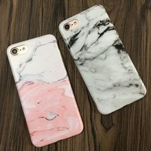 Fashion Marble Stone Rock Case For iPhone 7 6 6S Plus Colorful Soft Cover For iPhone 6 7 6S Fundas Capa(China (Mainland))