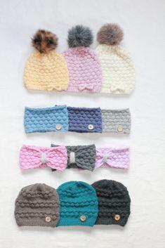 Ravelry: Såpebobler - Luer og Pannebånd pattern by Hilde Tunheim Johannesen Ravelry, Knitting Patterns, Winter Hats, Crochet Hats, Children, Barn, Fashion, Knitting Stitches, Knitting Hats