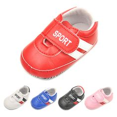 Sport Leather Baby Boy Girl Shoes Newborn Infant Non-slip Soft Bottom Boots Toddler First Walkers D34