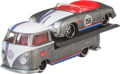 Amazon.com: Hot Wheels Team Transport VW T1 Transporter Pickup: Toys & Games Collectible Cars, Custom Hot Wheels, Vw T1, Cool Cars, Diecast, Lightning, Halo, Transportation, German