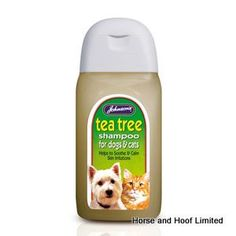 JVP Tea Tree Dog Shampoo 125ml JVP Tea Tree Shampoo is made with Aloe Vera to…