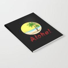 Aloha Hawaii Summer Vibes Cool Holiday Outfits and Home Decor Designs Notebook by Aloha Hawaii, Holiday Outfits, Summer Vibes, Personalized Items, Cool Stuff, Inspiration, Design, Home Decor, Biblical Inspiration