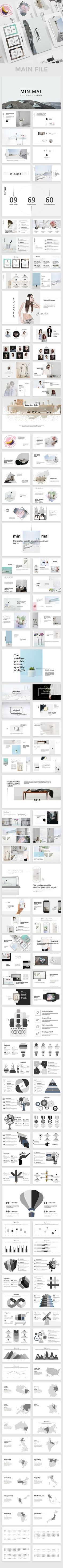 Mieo Minimal Powerpoint Template — Powerpoint PPT #keynote #color • Available here ➝ https://graphicriver.net/item/mieo-minimal-powerpoint-template/20612680?ref=pxcr