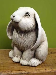 Frenchy Bunny -- Carruth Studio: Waterville, OH Pottery Animals, Ceramic Animals, Clay Animals, Ceramic Art, Rabbit Sculpture, Sculpture Clay, Sand Sculptures, Animal Sculptures, Bunny Art