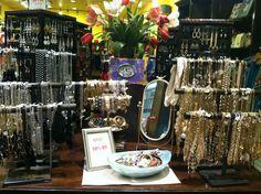 Francesca's jewelry display