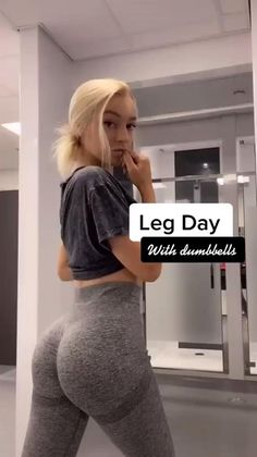 Fitness Herausforderungen, Fitness Video, Dieta Fitness, Fitness Workout For Women, Bum Workout, Gym Workout Videos, Gym Workout For Beginners, Summer Body Workouts, Leg Day Workouts