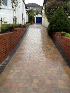 Completed Monoblock Driveway Project. Click to enlarge