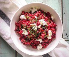Beetroot, Tahini, Bruschetta, Ricotta, Feta, Cabbage, Easy Meals, Dinner, Vegetables