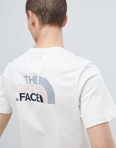 Camiseta en blanco vintage Easy exclusiva en ASOS de The North Face 6e1699f316b7