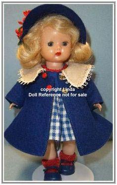 1954 Muffie Doll. Such a cute coat