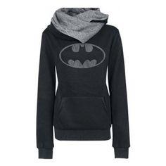 Women's Fashion Scarf Neck Batman Tops Hoodies Tees Sweatshirt ($29) ❤ liked on Polyvore featuring tops, hoodies, sweatshirts, batman, dc, jackets, long sweatshirt, long hoodies, hooded pullover sweatshirt and long hooded sweatshirt