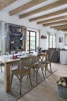 Industrial Style Len patrzeć na życie w zachwycie dom w stylu country w podpoznańskim