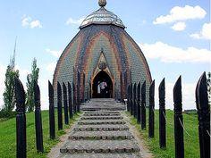 Ungarns größtes Panoramagemälde, das Feszty-Panorama befindet sich im Gedenkpark in Ópusztaszer.
