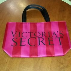 VICTORIAS SECRET SATIN SMALL TOTE EXCELLENT CONDITION APPROX 12X7 INCHES VICTORIAS SECRET  Bags Mini Bags