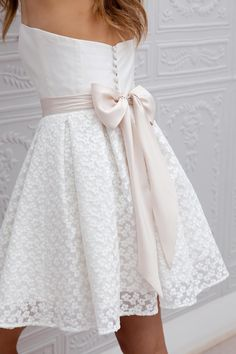Wedding Bridal Lace Dress //