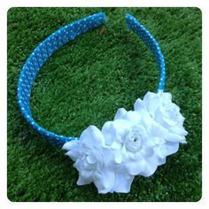 BRENDA FLORAL HEADBAND by Sweet As Candy Vintage
