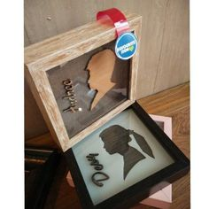 #natural #wood #silhouette #gift