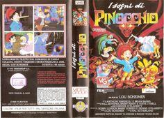 I sogni di Pinocchio (Pinocchio and the Emperor of the Night, 1987) Vhs cover ITA (2271x1634)