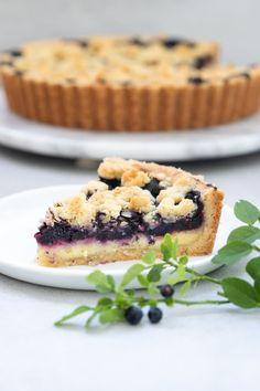 Kolaci I Torte, Fika, Chocolate Ganache, Salmon Burgers, Food Inspiration, Baked Goods, Blueberry, Bakery, Brunch