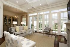 1215 Wynden Commons Ln - Wonderful natural light cascades through french doors in the den.