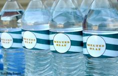 Dress up water for any party with this quick and easy tutorial, how to make water bottle labels.  Hey Creative readers! It's Sydney fromTastefully Frugalhere to share with you one of my favorite budget friendly party ideas. I love to throw parties, whether it's for birthdays, holidays or family get togethers, I love being …