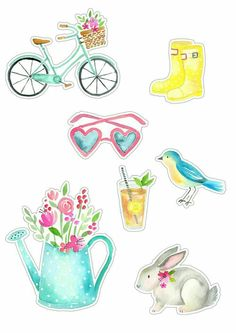 Making A Bridal Shower Scrapbook – Scrapbooking Fun! Printable Stickers, Printable Paper, Cute Stickers, Kikki K, Journal Stickers, Planner Stickers, Filofax, Bridal Shower Scrapbook, Paper Art