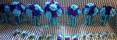 17 Piece Wedding Package 22 Rose Colors by SilkFlowersByJean, $375.00