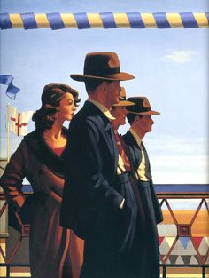 The Defenders of Virtue - Jack Vettriano