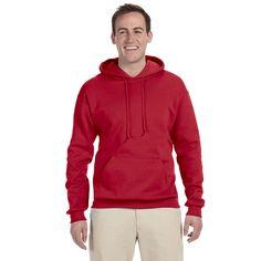 Men's Big and Tall 50/50 Nublend Fleece True Pullover Hood