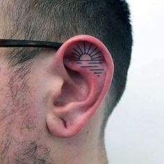 50 Best Ear Tattoos Images Tattoo Designs Men Tattoos For Men
