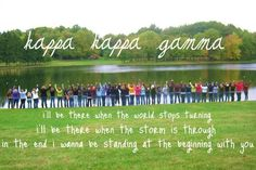 Lambda with our pref song! <3 This is from my first year! PC Fall 2010 <3 Meow
