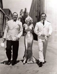 Wallace Beery, Jean Harlow, Clark Gable