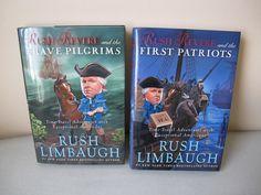 Rush Revere Brave Pilgrims First Patriots set of two books
