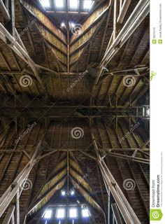 Old Wooden Barn Roof With Light Shining Through Wooden Boards - Download From Over 54 Million High Quality Stock Photos, Images, Vectors. Sign up for FREE today. Image: 29376110