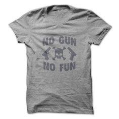 No Gun No Fun Tee